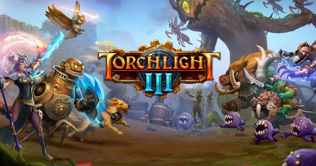 TORCHLIGHT III, now available on PlayStation 4, Xbox One and Steam