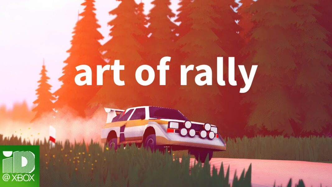 art of rally Will Come to Xbox and Game Pass This Summer