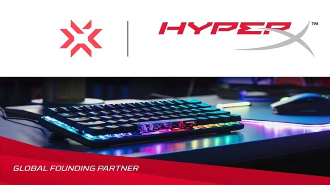 HyperX, Riot Games'in VALORANT Champions Tour'un Global Kurucu Ortağı Oldu