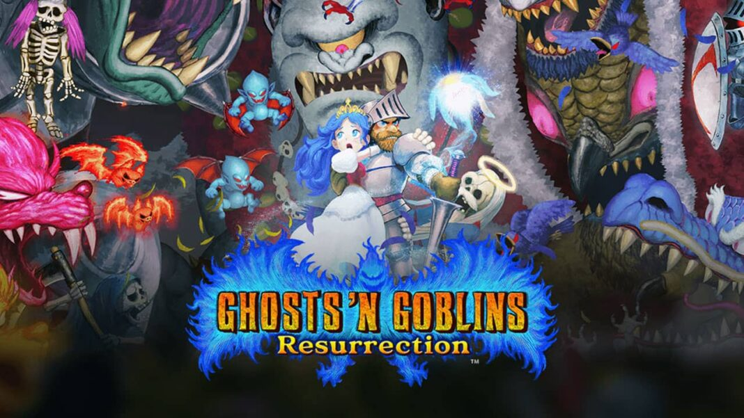 Ghosts 'n Goblins Resurrection, available now on PLAYSTATION 4, XBOX One and Steam